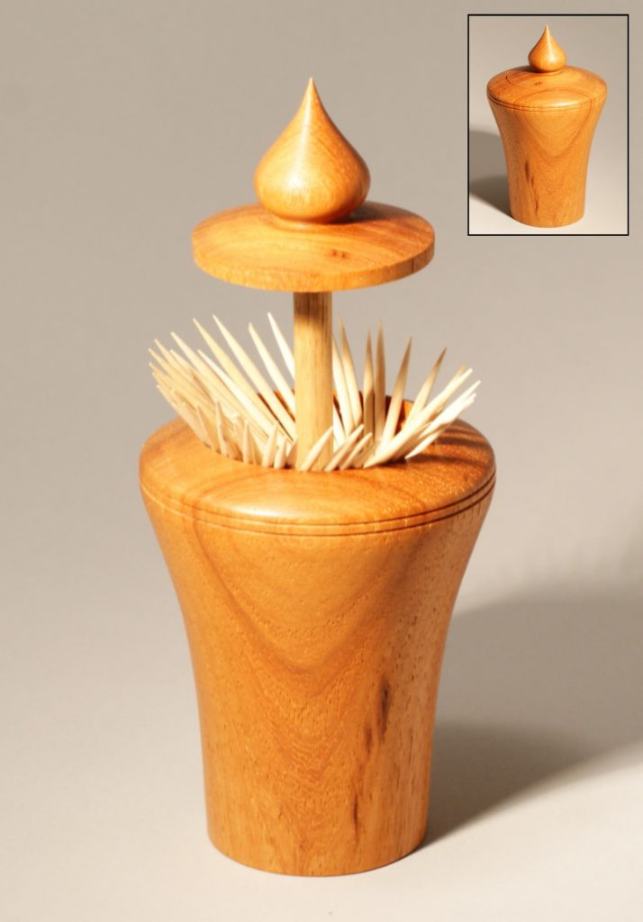 Pop-up Toothpick Holder